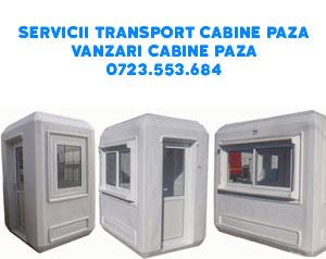 Transport cabine paza modulare