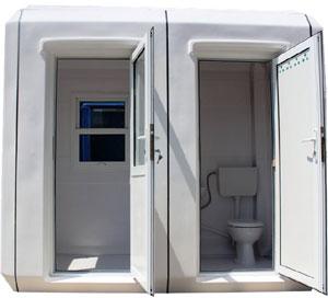 Cabine paza cu toaleta K1527